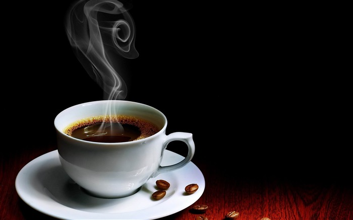 cup coffee steam hot grains-food drinks HD wallpaper Wallpapers View HD Wide Wallpaper for Widescreen