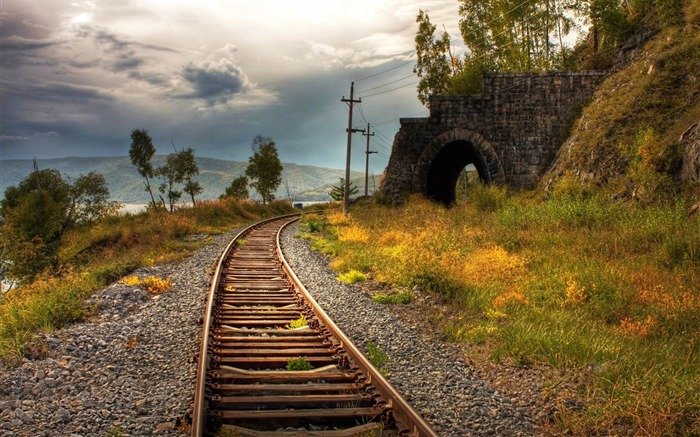 railroad-Photography widescreen wallpaper Views:4954 Date:4/30/2013 11:31:26 PM