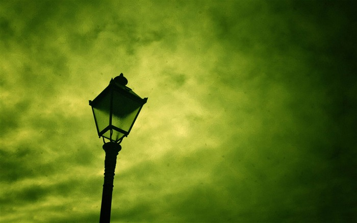 street lamp-creative design HD wallpaper Views:6389
