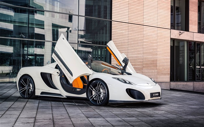 2013 MCLaren MP4-12C Spider by Gemballa Auto HD Desktop Wallpaper Views:9042