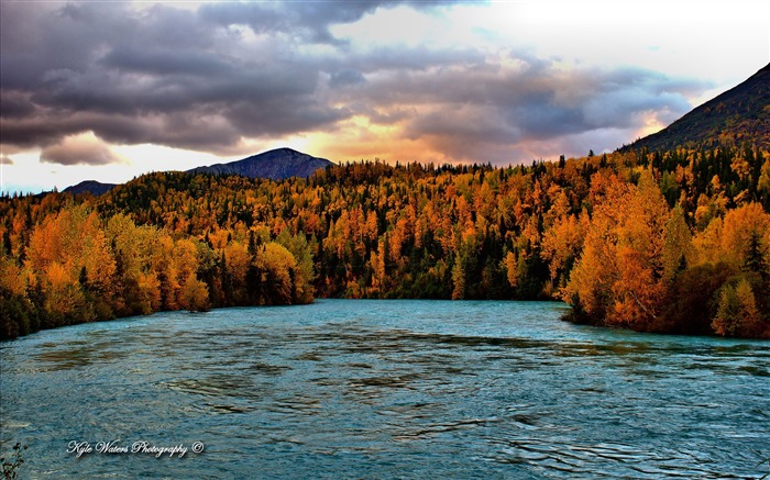 Beautiful Alaska natural scenery desktop wallpaper Views:8616 Date:5/6/2013 10:29:12 PM