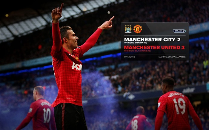 Manchester City 2 Manchester United 3-2012-13 champion Wallpaper Views:3594 Date:5/3/2013 11:12:13 PM