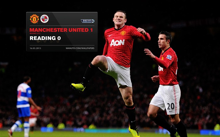Manchester United 1 Reading 0-2012-13 champion Wallpaper Views:8132 Date:5/3/2013 10:57:05 PM