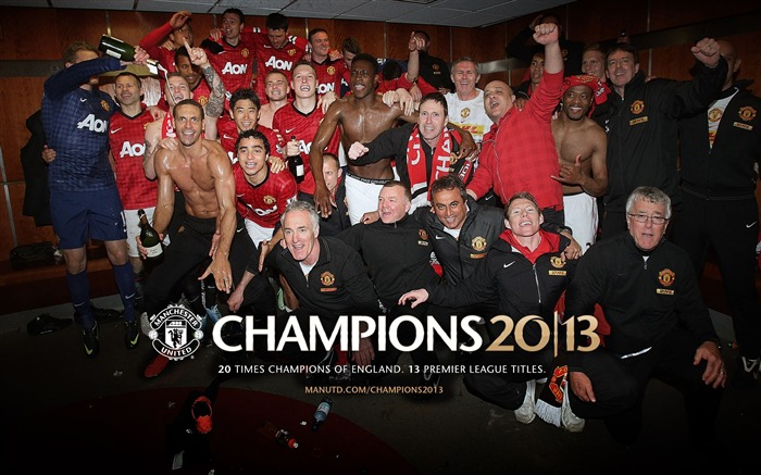 Manchester United 2012-13 champion Wallpaper 03 Views:4476 Date:5/3/2013 10:50:04 PM