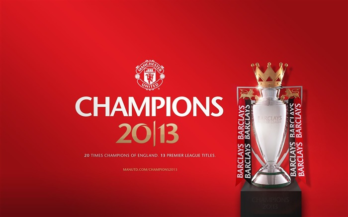 Manchester United 2012-13 Barclays champions Wallpapers Views:8815