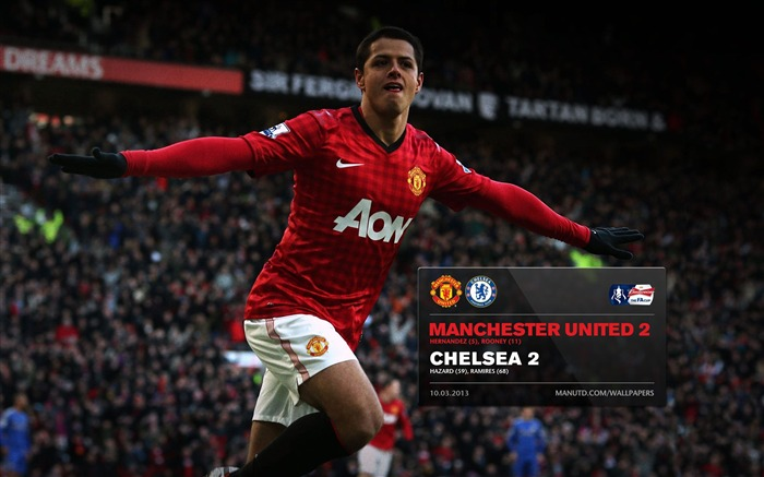 Manchester United 2 Chelsea 2-2012-13 champion Wallpaper Views:4473 Date:5/3/2013 11:01:30 PM
