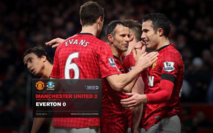 Manchester United 2 Everton 0-2012-13 champion Wallpaper Views:4088 Date:5/3/2013 10:57:48 PM