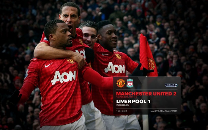 Manchester United 2 Liverpool 1-2012-13 champion Wallpaper Views:4625 Date:5/3/2013 10:59:40 PM