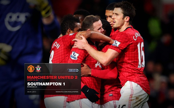 Manchester United 2 Southampton 1-2012-13 champion Wallpaper Views:4930 Date:5/3/2013 11:00:37 PM