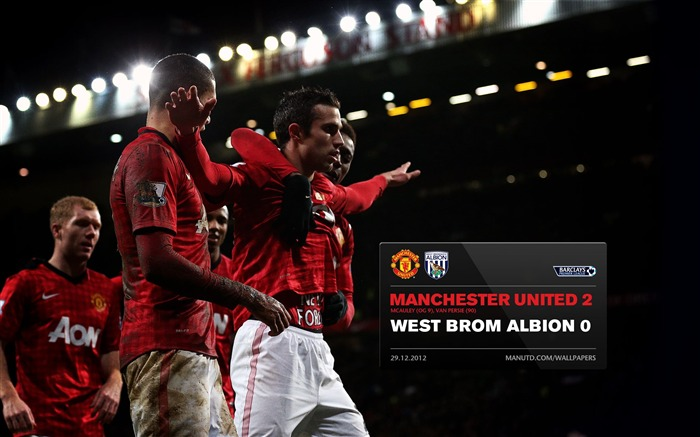 Manchester United 2 West Bromwich Albion 0-2012-13 champion Wallpaper Views:5740 Date:5/3/2013 11:02:40 PM