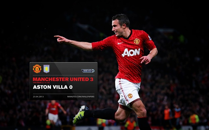 Manchester United 3 Aston Villa 0-2012-13 champion Wallpaper Views:3696 Date:5/3/2013 11:04:22 PM