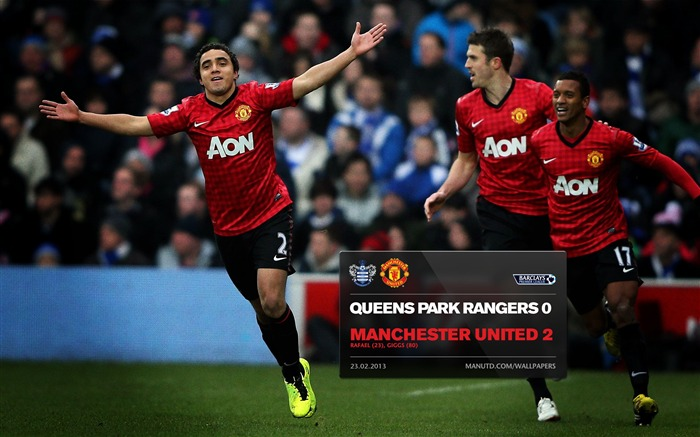 Queens Park Rangers 0 Manchester United 2-2012-13 champion Wallpaper Views:4126 Date:5/3/2013 11:07:03 PM