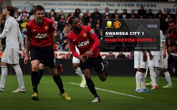 Swansea 1 Manchester United 1-2012-13 champion Wallpaper Views:5100 Date:5/3/2013 11:07:40 PM