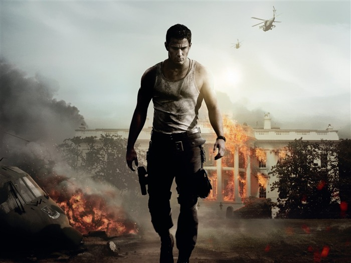 WHITE HOUSE DOWN Movie HD Desktop Wallpaper Views:8989