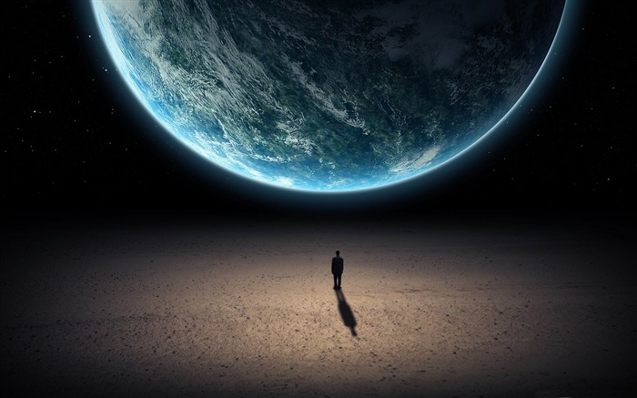alone in the universe-Space Universe Photography Wallpaper Views:13773