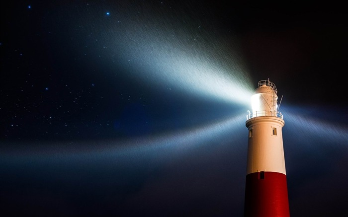 lighthouse in rain-May HD quality wallpaper Views:3783