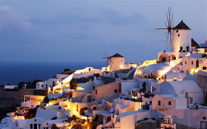 oia castle-Greece Travel photography wallpaper Views:7767