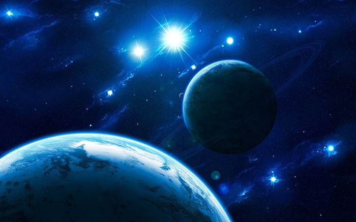 shinning stars-Space Universe Photography Wallpaper Views:4938