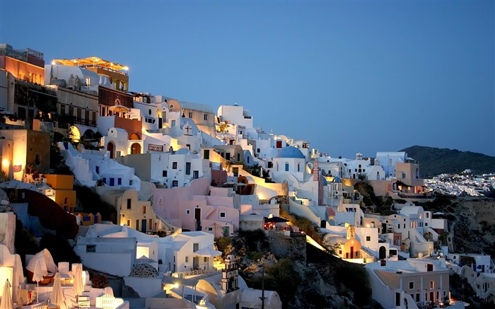 white houses-Greece Travel photography wallpaper Views:3568
