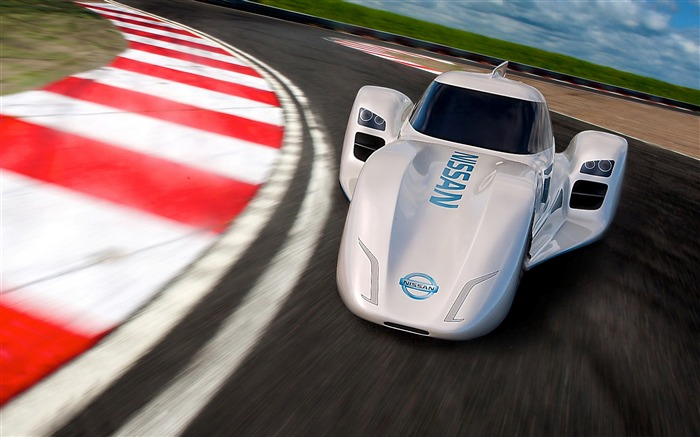 2013 Nissan ZEOD RC electric concept car HD wallpaper Views:4756
