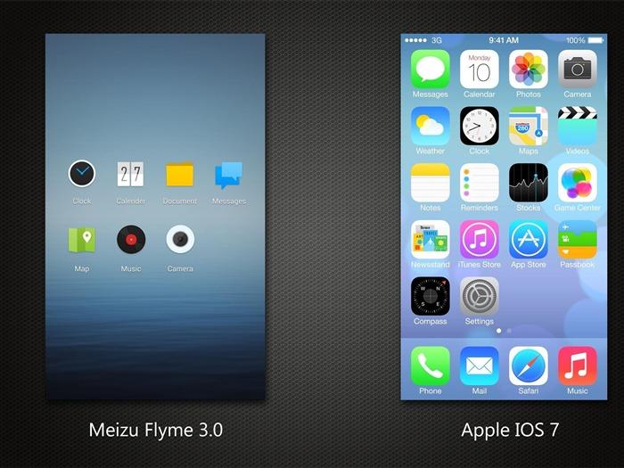 Apple IOS 7 IPhone HD Widescreen Wallpapers Album List