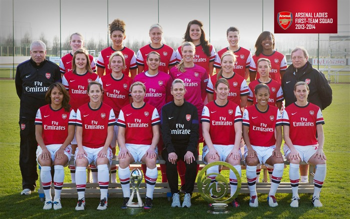 Arsenal Ladies Squad 2013-2014 Arsenal HD Wallpaper Views:8344 Date:6/16/2013 11:27:45 AM