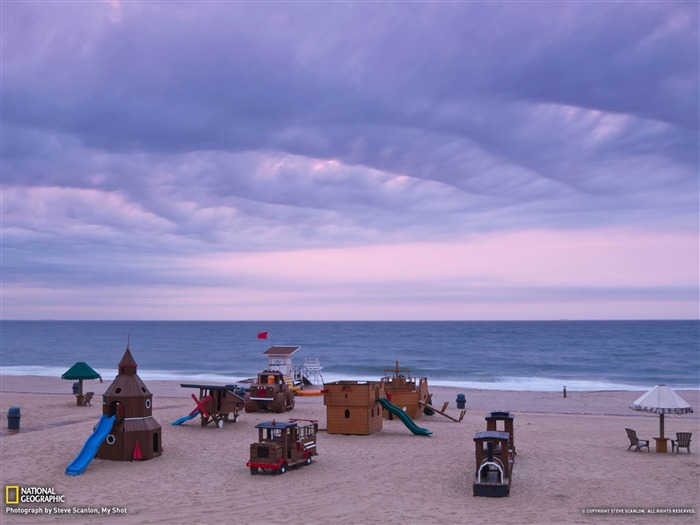 Beach New Jersey-National Geographic wallpaper Views:4841