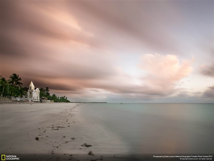 Church by the ocean-National Geographic wallpaper Views:4127