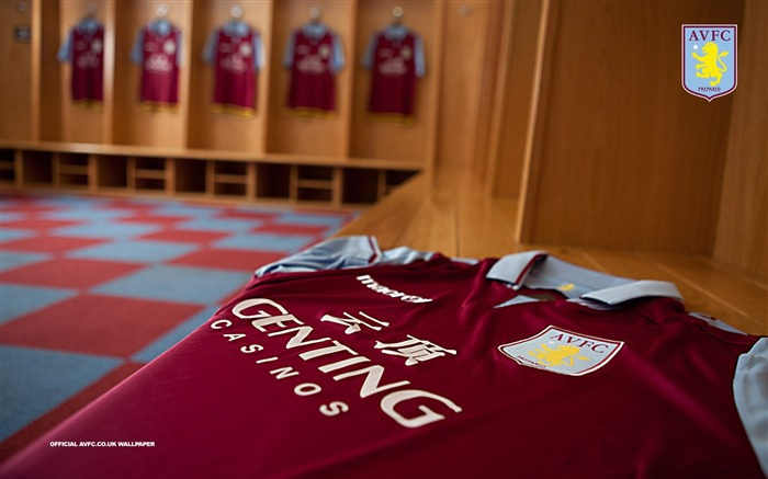 Dressing Room Delight-Aston Villa 2013 HD Wallpaper