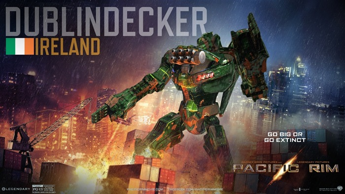 Dublindecker Ierland-Pacific Rim 2013 Movie HD Desktop Wallpaper Views:13888