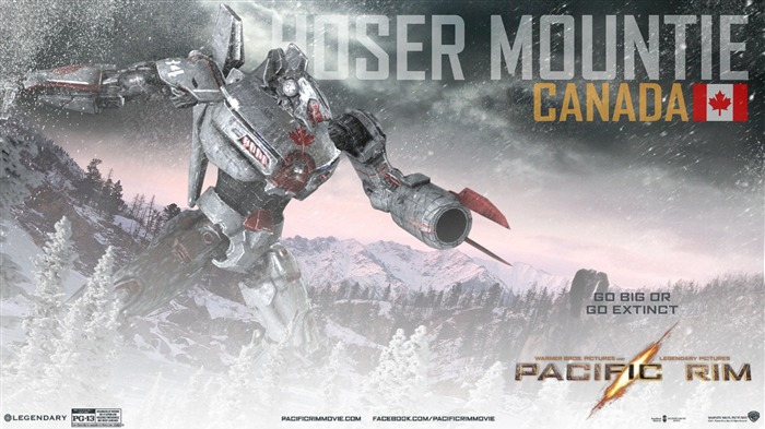 Hoser Mountie Canada-Pacific Rim 2013 Movie HD Desktop Wallpaper Views:4890