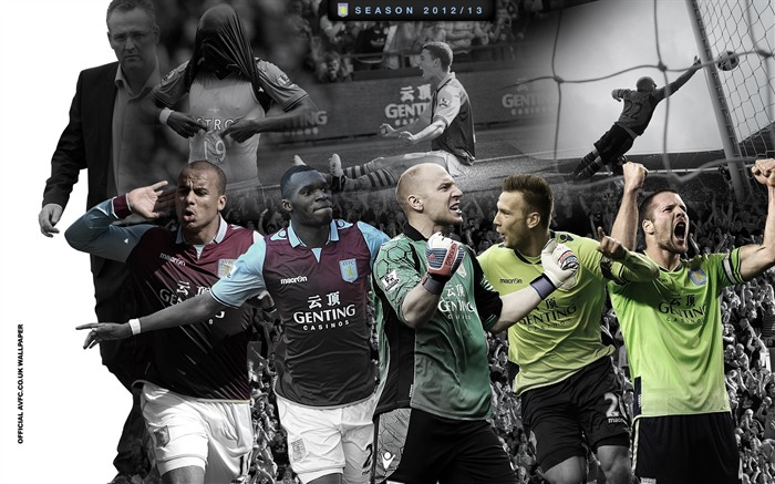 Iconic images from the season-Aston Villa 2013 HD Wallpaper Views:2885