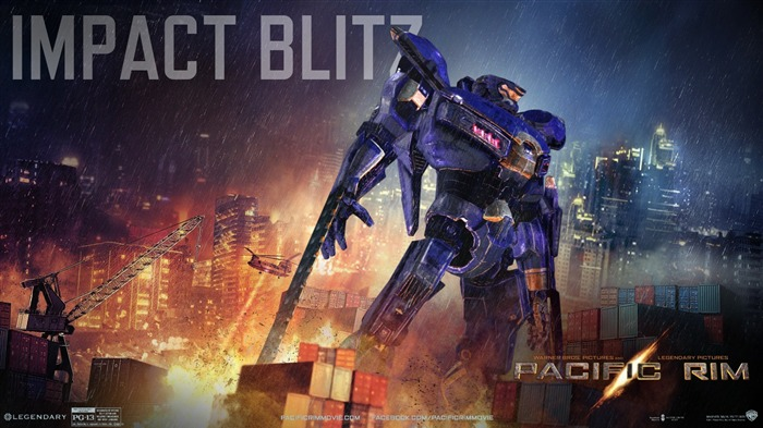 Impact Blitz-Pacific Rim 2013 Movie HD Desktop Wallpaper Views:3955