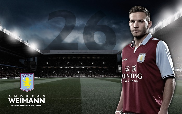 Main Man Weimann-Aston Villa 2013 HD Wallpaper Wallpapers