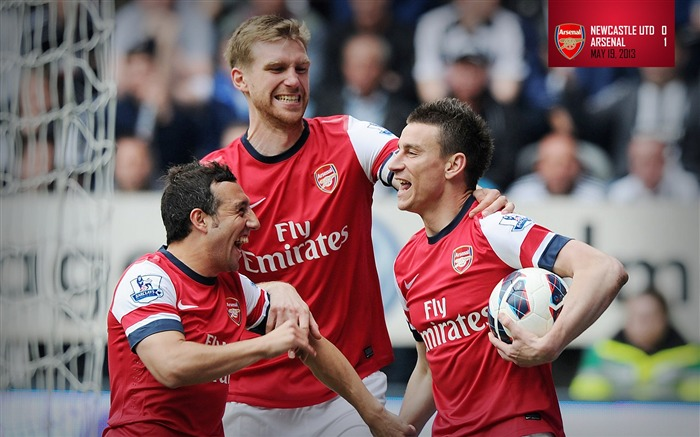 2013 Arsenal Football Club Latest HD Wallpaper Views:8183