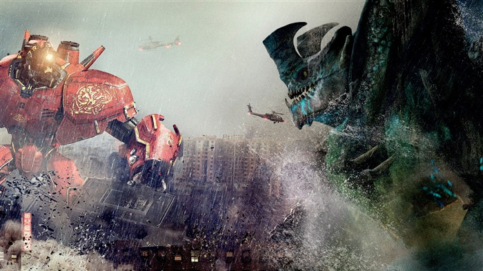 Pacific Rim 2013 Movie HD Desktop Wallpaper 03 Views:4028