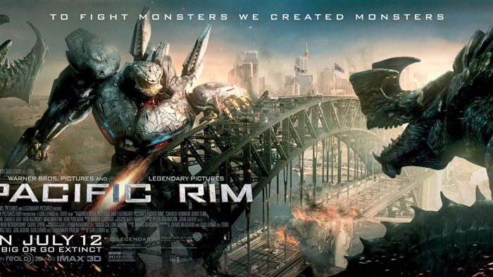 Pacific Rim 2013 Movie HD Desktop Wallpaper 08 Views:2913