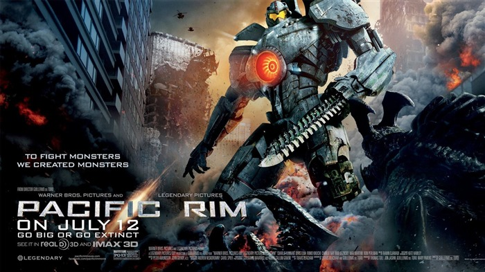 Pacific Rim 2013 Movie HD Desktop Wallpaper 09 Views:2068