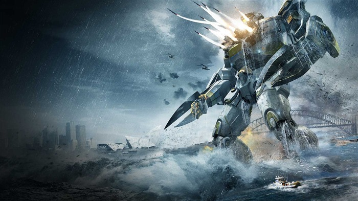 Pacific Rim 2013 Movie HD Desktop Wallpaper 10 Views:4594