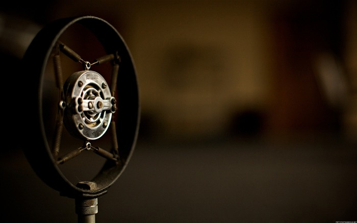 Radio microphone-Life photography HD wallpaper Views:6965 Date:6/15/2013 12:24:11 AM