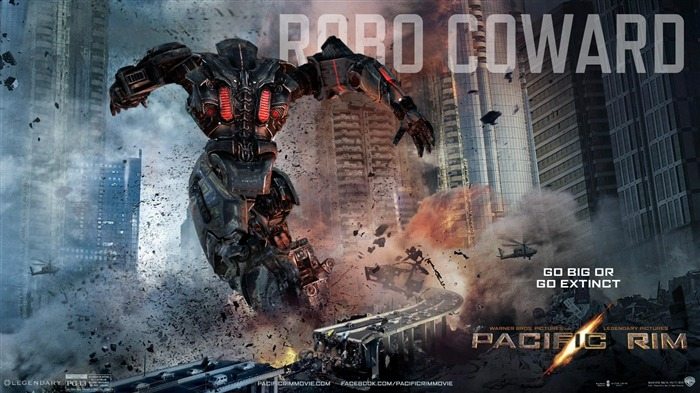 Robo Coward-Pacific Rim 2013 Movie HD Desktop Wallpaper Views:5557