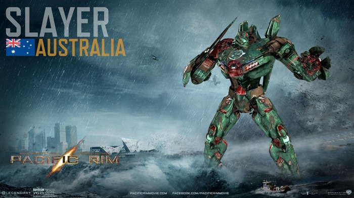 Silver Australia-Pacific Rim 2013 Movie HD Desktop Wallpaper Views:4238