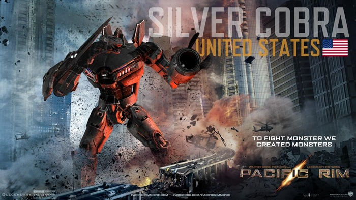 Silver Cobra United States-Pacific Rim 2013 Movie HD Desktop Wallpaper Views:3794