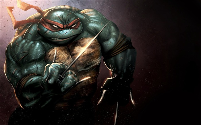 Teenage Mutant Ninja Turtles-Out Of the Shadows Game HD Wallpaper 01 Views:3392