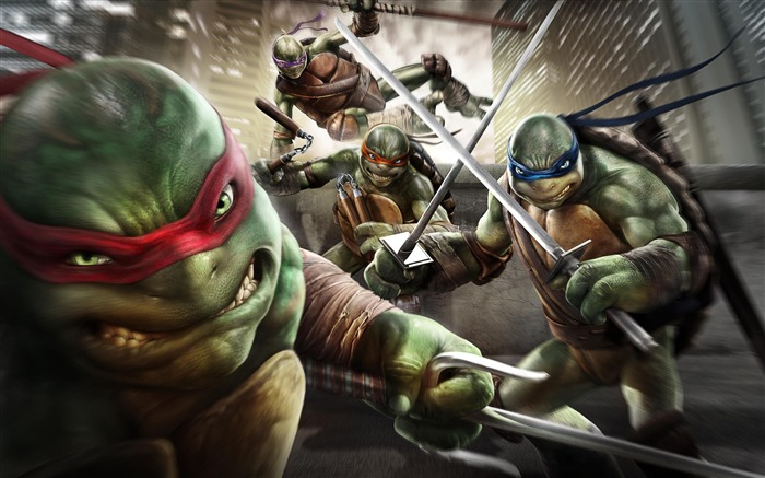 Teenage Mutant Ninja Turtles-Out Of the Shadows Game HD Wallpaper Views:8964
