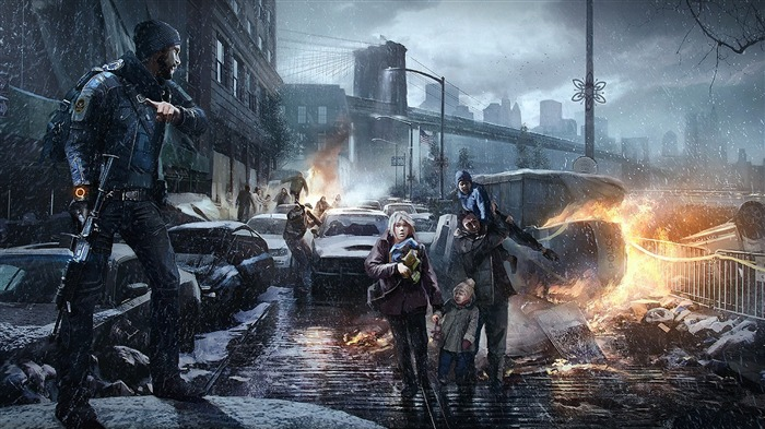 Tom Clancys The Division Game HD Desktop Wallpaper 04 Views:2815