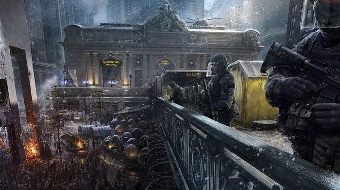 Tom Clancys The Division Game HD Desktop Wallpaper 05 Views:3633