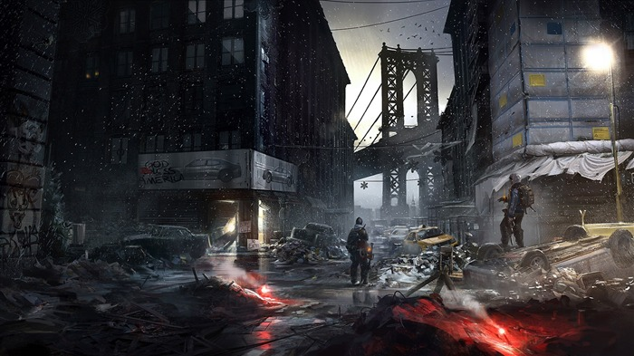 Tom Clancys The Division Game HD Desktop Wallpaper 06 Views:2720