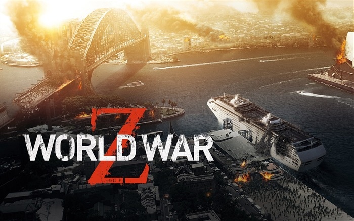World War Z 2013 Movie HD Desktop Wallpaper Views:8686