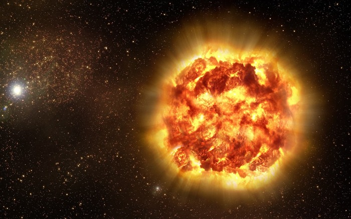 explosion star fire accident-Space Photography HD Wallpaper Views:6940
